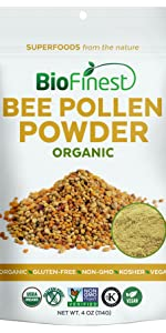extract capsules softgels supplement powder superfood Bee Pollen