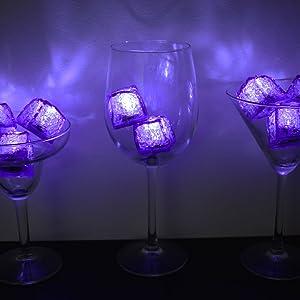 led ice cubes flashing ice cube litecubes