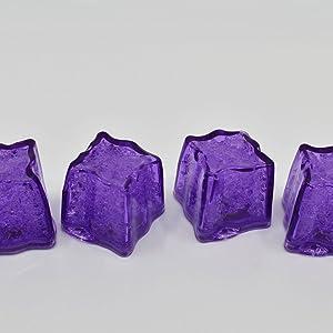 litecubes led light up ice cubes purple