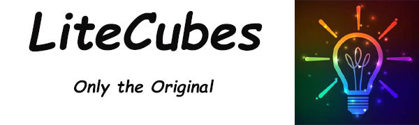 litecubes amethyst purple jewel light up ice cubes