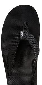 Makaha Black Sandal
