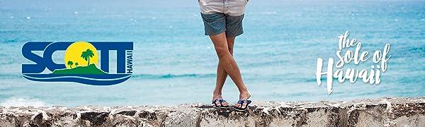 Scott Hawaii Mens Sandals