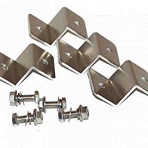 4 Z brackets for easy installation