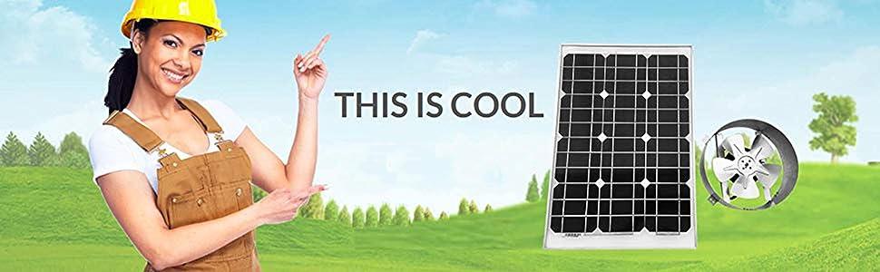 Amtrak Solar Fan