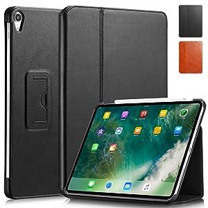 "KAVAJ iPad Pro 12.9""  Berlin black front and rear"