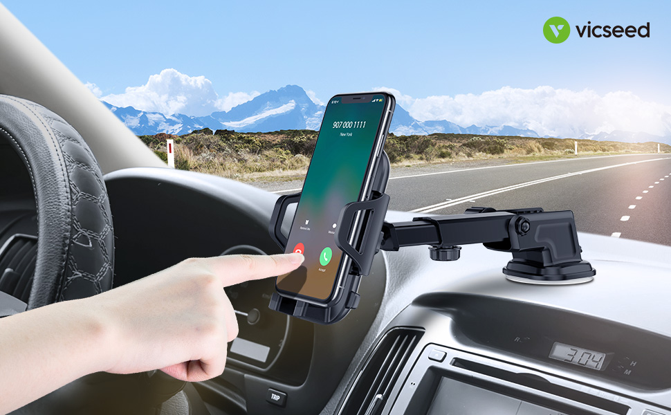 05b7c054420ca0 Amazon.com: Car Phone Mount VICSEED Universal Car Phone Holder for ...