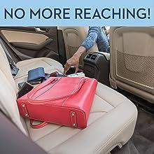 Amazon Com Car Cache Handbag Holder Car Purse Storage