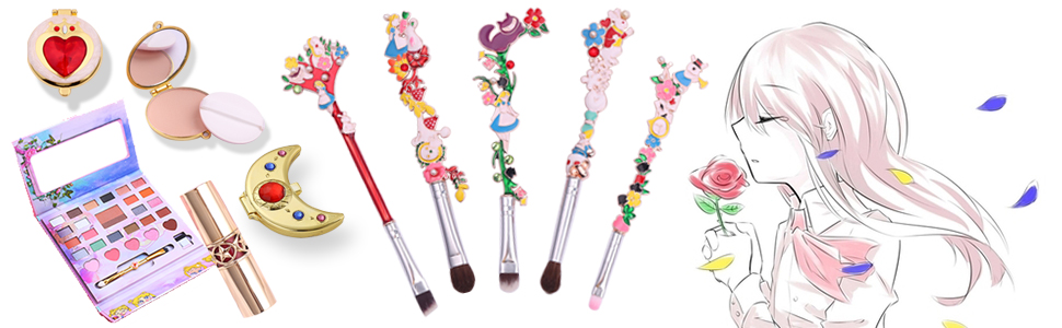 cute fairy makeup brushes