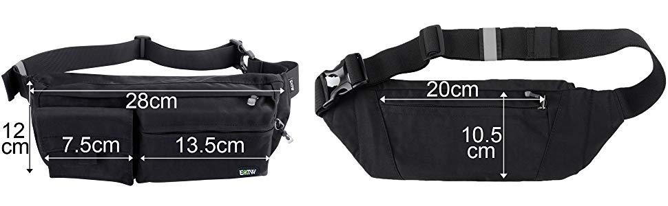 Notice  Due to some people said this waist bag is not as big as expected c79b5f90c9e51