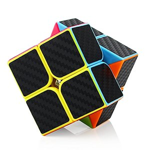 Dreampark Speed Cube Bundle 3 Pack 2x2x2 3x3x3 Pyramid Sticker Magic Cube Set Puzzle Cube Toys for Kids and Adults