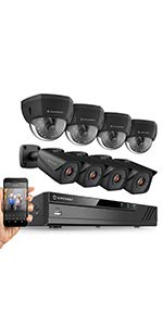 735a91d78653 Amazon.com   Amcrest UltraHD 4K (8MP) Outdoor Security POE IP Camera ...