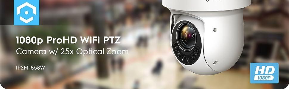 1080p wifi ptz camera
