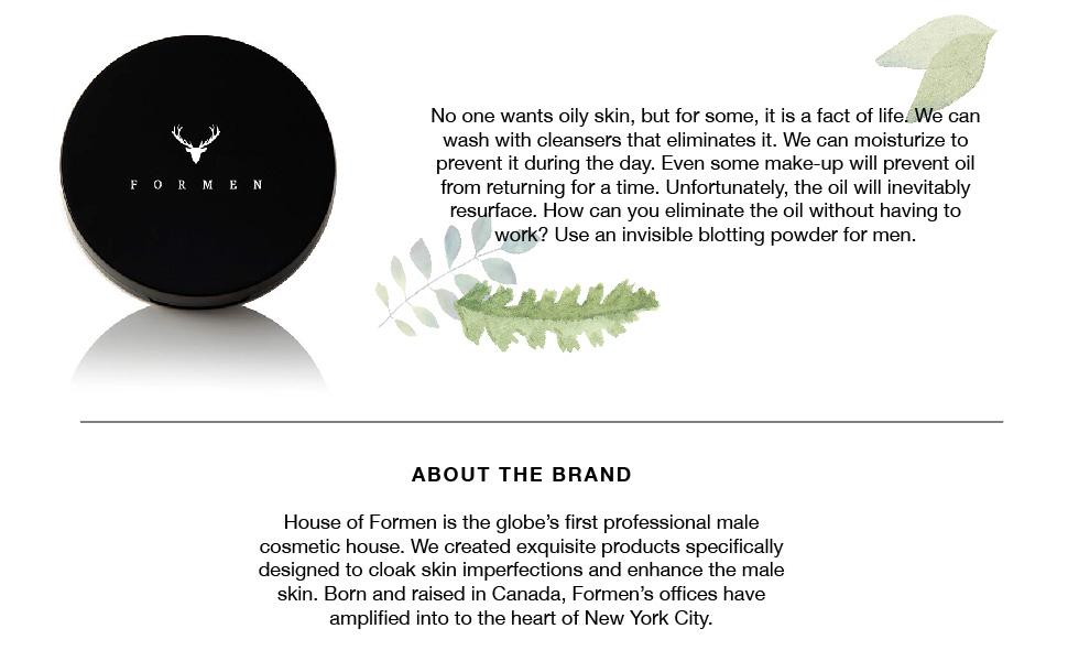 makeup for men, blotting powder, facial powder, facial shine, male shine, remove shine