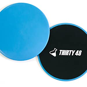 Dual Gliding Disc Core Sliders