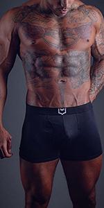 sheath underwear support david archy mens 4.0 boxer briefs