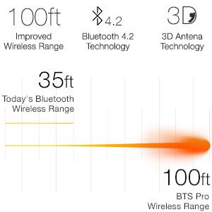66 Audio - BTS PRO - Wireless Bluetooth Sports Headphones w