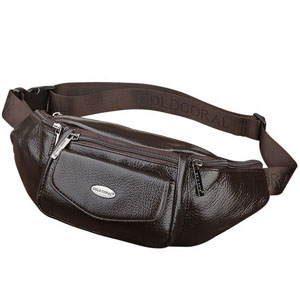Leather Fanny Pack  Bum Bag  Waist Pouch  Belt Pack  Belly Bag  Hip Sack  for Men Women with Japanese Kimono fabrics