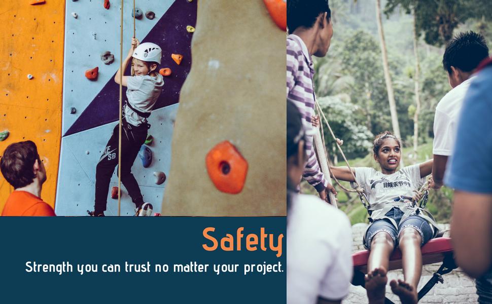 safety rock climbing