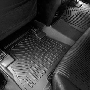 oEdRo Floor Mats Compatible for 2017-2019 Honda CR-V