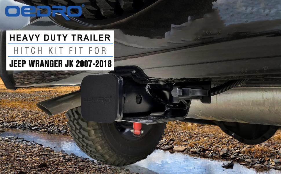 oedro trailing hitch kit jeep