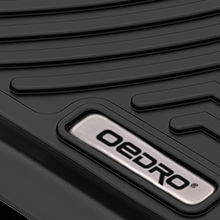 oEdRo Floor Mats Compatible for 2016-2018 Durango/Grand Cherokee
