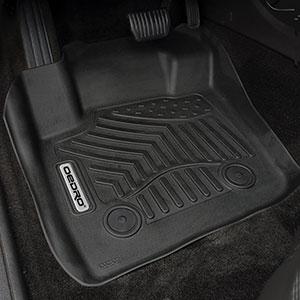 oEdRo Floor Mats Compatible for 2015 2016 2017 2018 2019 2020 Tesla Model S