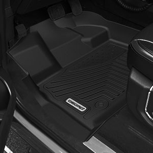 oEdRo Floor Mats Compatible for 2017-2019 Ford Explorer