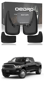 Mud flaps fit for 2019-2018 dodge ram