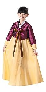 Korean Traditional Dress · Embroidery Hanbok Dress · Traditional Hanbok · Kids Hanbok Dress · Mens Korean Traditional Hanbok · Japanese Kimono  sc 1 st  Amazon.com & Amazon.com: Lemail Womens Korean Hanbok Dress Long Sleeve Korean ...