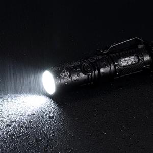 ipx8 waterproof 2m submersible compact aluminum lightweight flashlight