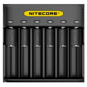 NITECORE Q6 2A velocidade seis slot carregador de bateria universal