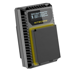 nitecore fx1 charging speed