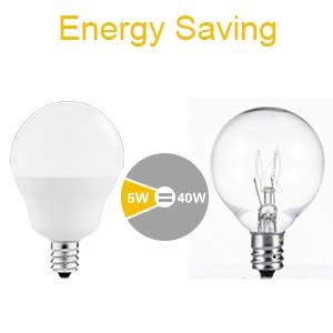40W Equivalent LED Candelabra Light Bulbs JandCase G14