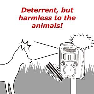 fox repeller cat repellent garden animal pest control solar animal repeller ultrasonic dog repeller