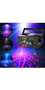 music laser light dj