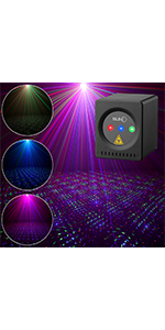 Flashandfocus.com ec0be39b-d9a2-48bf-b0ad-f9d70bd3c352.__CR0,0,150,300_PT0_SX150_V1___ SUNY Mini Portable Cordless Laser Lights Rechargeable RGB Stars Patterns Gobo Projector Sound Activated Music DJ Party…