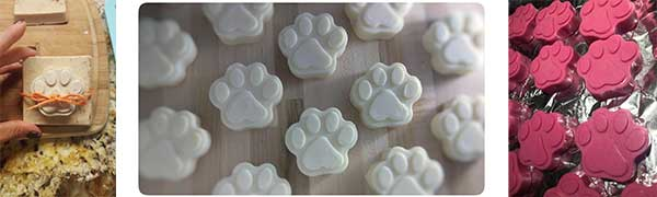 Silicone Paw Dog Mold
