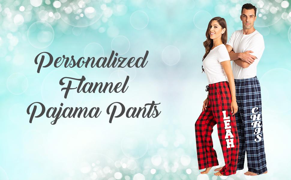 Zynotti Unisex Customized - Personalized Pajama Pants - Sleep Lounge