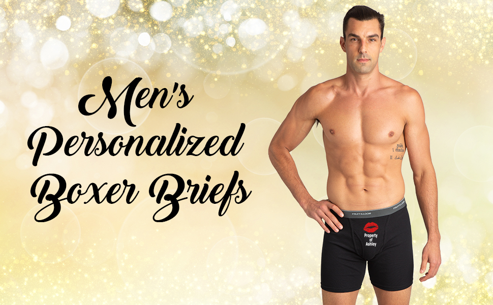 A Memorable Gift For Any Occasion Fully Customizable Boxer Briefs