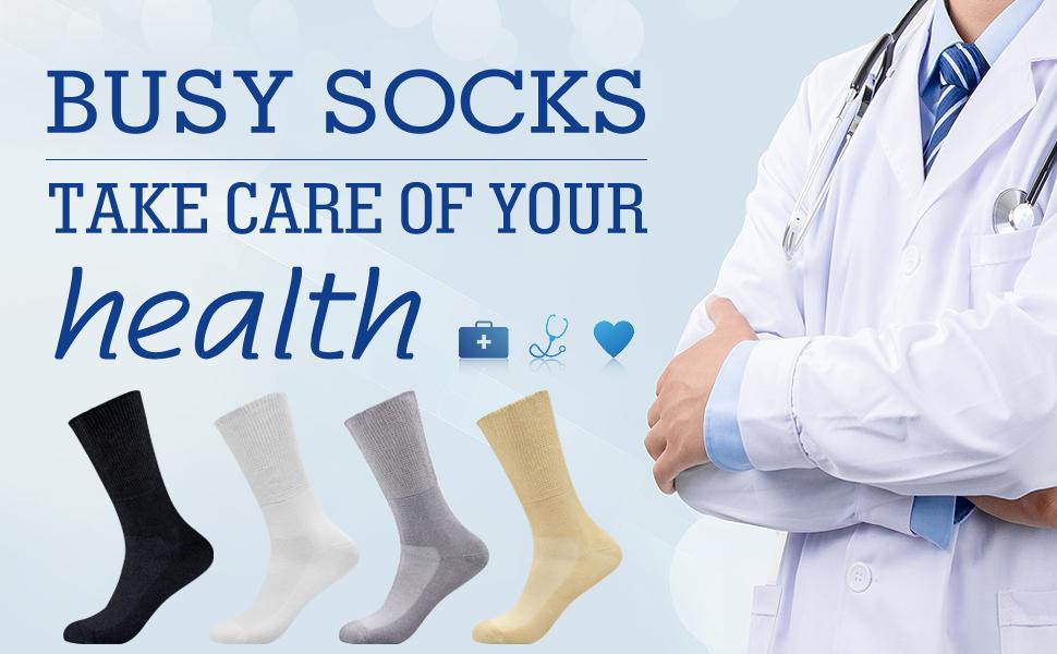 colorful diabetic socks