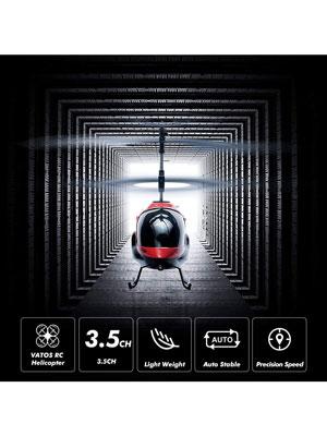 VATOS Helic/óptero RC Helic/óptero de Control Remoto Interior 3.5 Canales Hobby Mini RC Helic/óptero Volador Avi/ón RC Juguete de Regalo para ni/ños Resistencia a choques Consistente