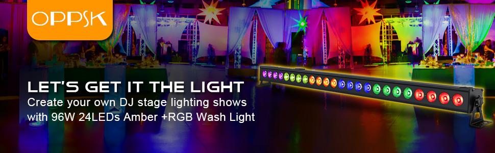 wash light
