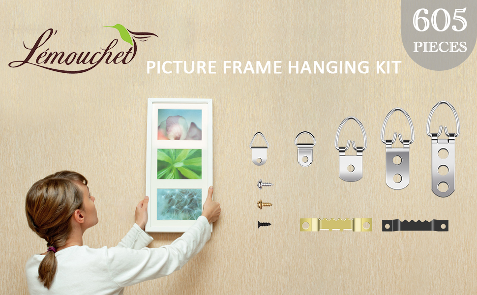 picture frame hanging kit