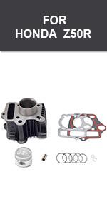 Dirt Bike piston kit 70CC 90CC HONDA TRX70 XR70 ATC70 Taille Standard