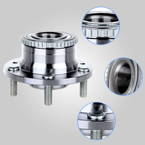 Rear Wheel Bearing /& Hub Assembly for Fusion MKZ Zephyr 6 Milan Replaces 512271