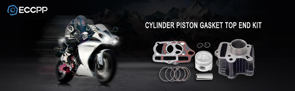 STD PISTON RINGS /& GASKET SET FOR HONDA Z50R CRF50 XR50 50CC TRAIL DIRT BIKE NEW