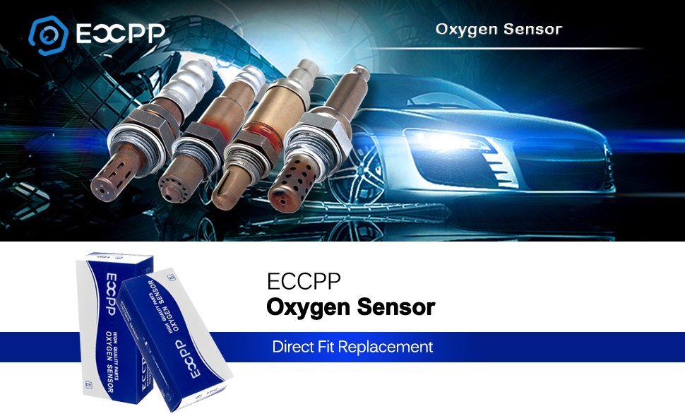 ECCPP Oxygen Sensor Downstream Fit 2001-2004 Subaru Impreza Subaru Forester 2.5L Only fit: 04 Non-Turbo