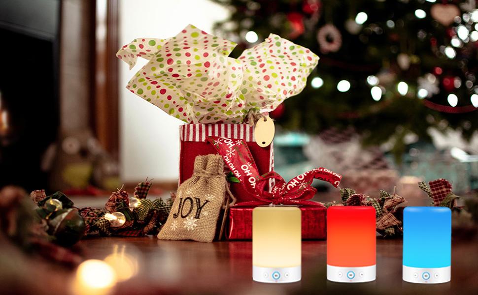 Bluetooth speaker night light
