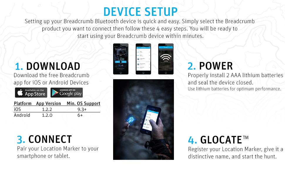 Amazon.com: BREADCRUMB - Mini marcador de ubicación ...