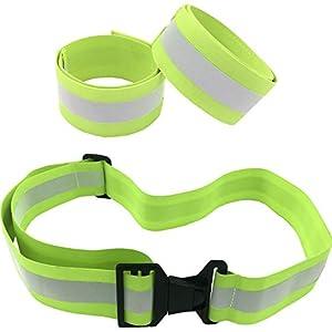 Green Reflective Belt + 2 Bands